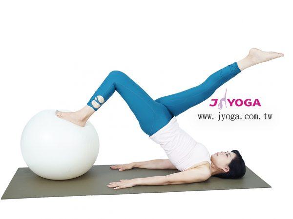 台南JYOGA樂活瑜珈-瑜珈教學-彼拉提斯抗力球