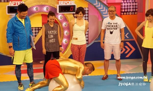 台南瑜珈教學-緯來電視台 緯來綜合台 玩美的人類(9)
