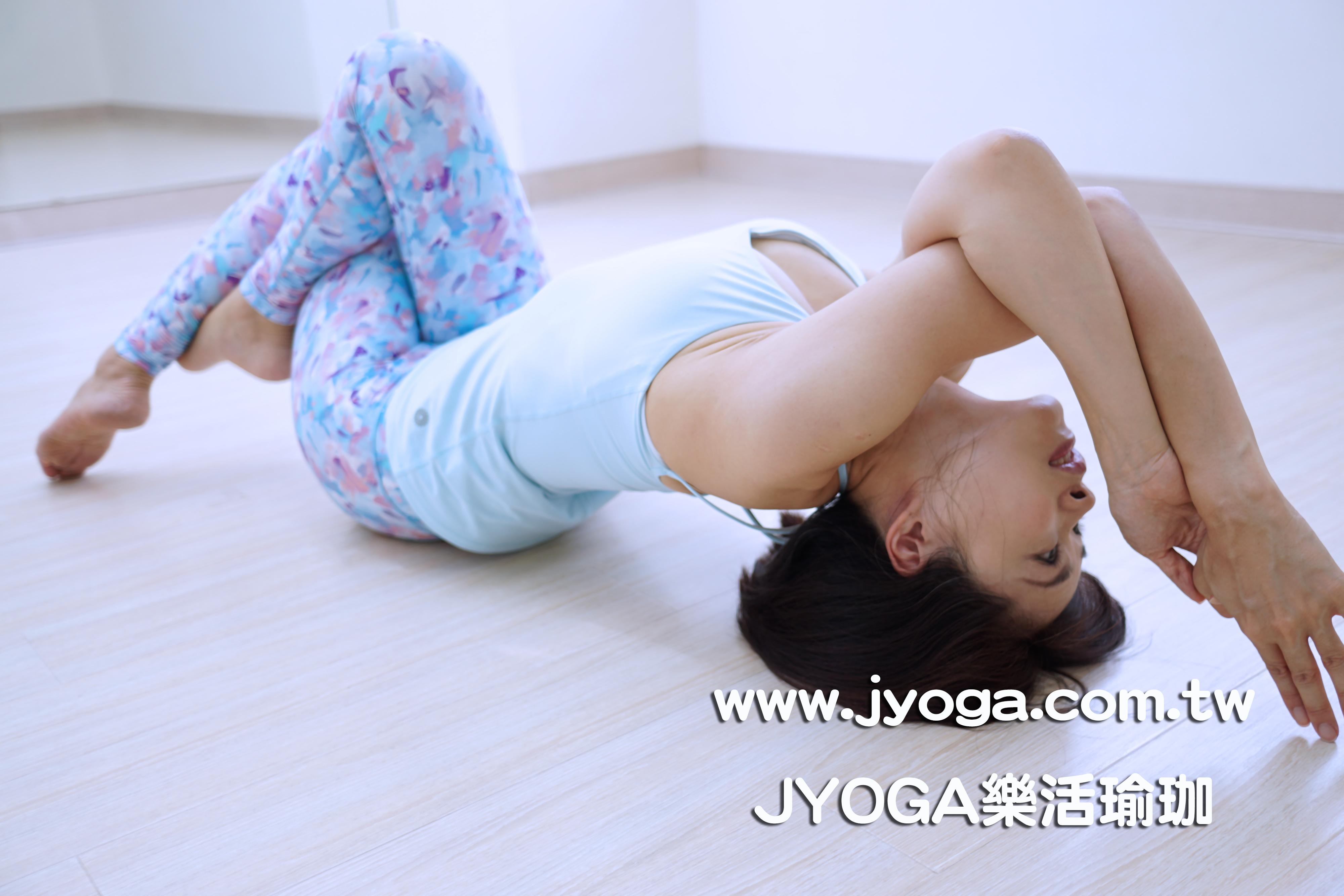 台南jyoga乐活瑜珈-瑜珈教学-鱼式变化