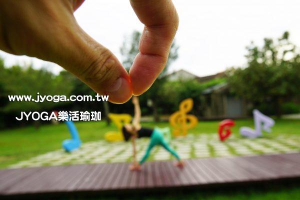 台南JYOGA樂活瑜珈-瑜珈教學-反轉三角式
