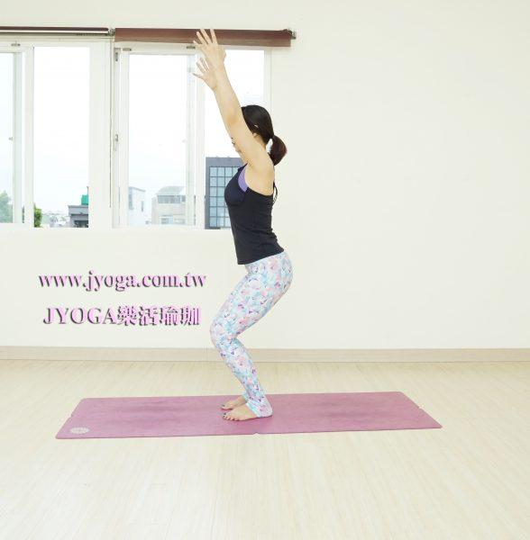 台南JYOGA樂活瑜珈-瑜珈教學-站姿前彎