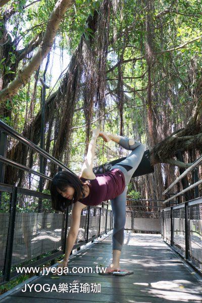 台南JYOGA樂活瑜珈-瑜珈教學-半月式變化