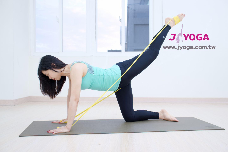 台南JYOGA樂活瑜珈-瑜珈教學-彈力帶