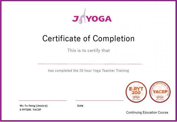 台南JYOGA樂活瑜珈-瑜珈教學-瑜珈師資培訓-瑜珈證照