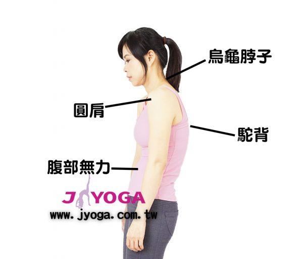 台南JYOGA樂活瑜珈-瑜珈教學-上交叉症候群