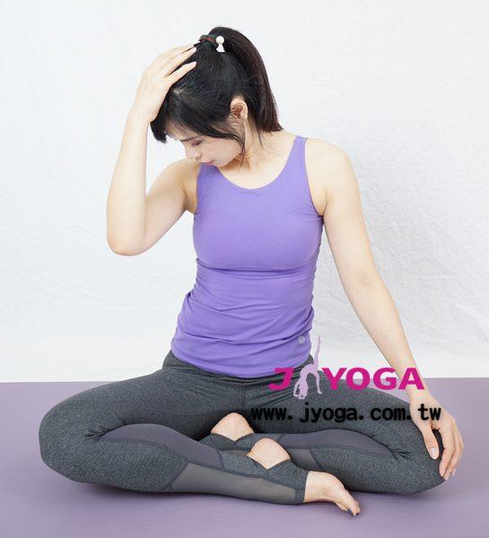 台南JYOGA樂活瑜珈-瑜珈教學-頸部放鬆