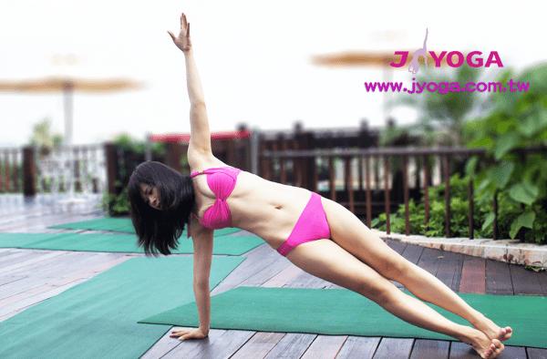 台南JYOGA樂活瑜珈-瑜珈教學-美國瑜伽聯盟-RYT200瑜珈師資國際證照-側棒式