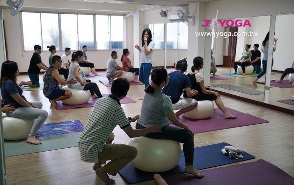台南JYOGA樂活瑜珈-瑜珈教學-孕婦瑜珈-生產球