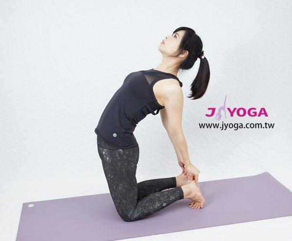 台南JYOGA樂活瑜珈-瑜珈教學-駱駝式