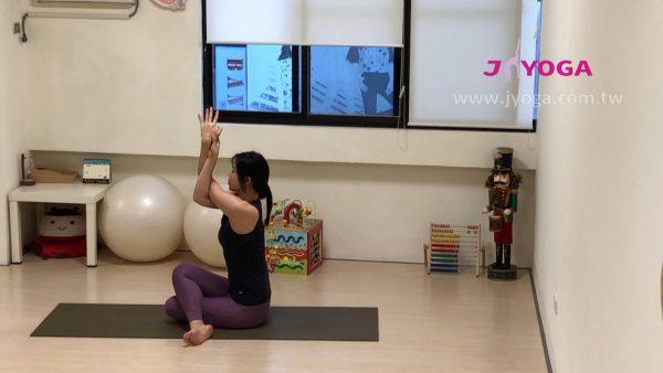 瑜珈教學-牛面式